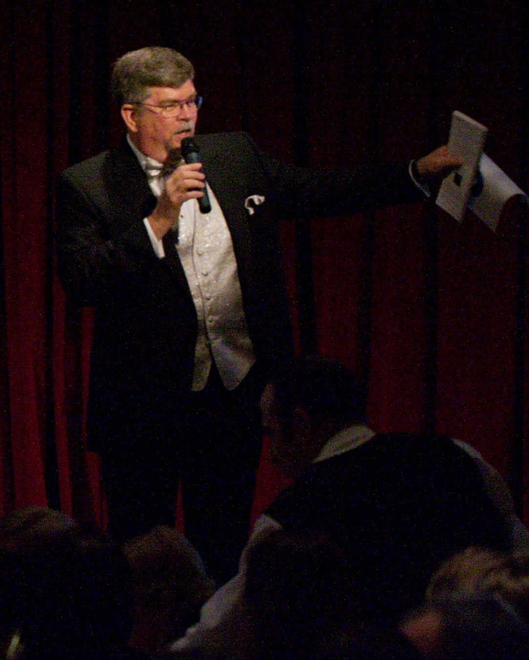 Jay Fiske, Benefit Auctioneer